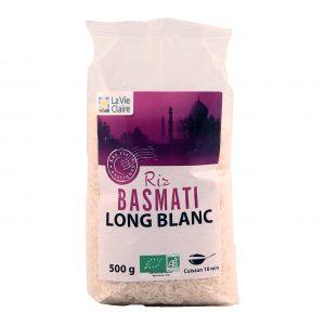 Riz Basmati long blanc La Vie Claire