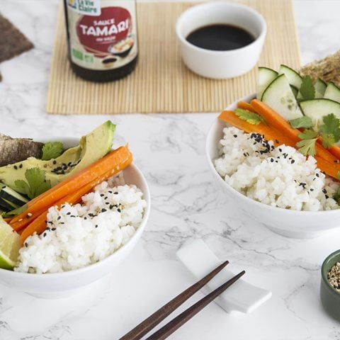 Easy sushis en bols