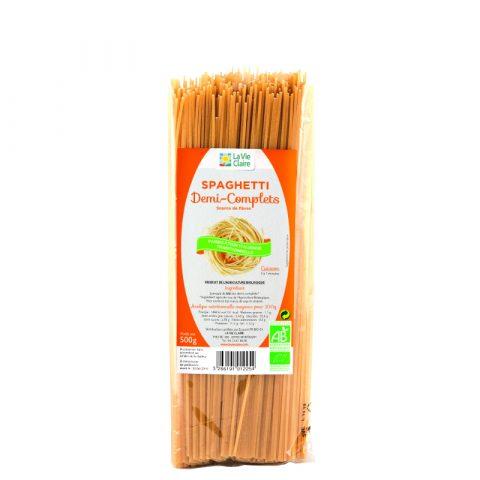 Spaghetti demi-complets bio