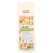 Thé vert saveur fruits du verger bio