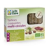 Tartines craquantes multi-céréales bio