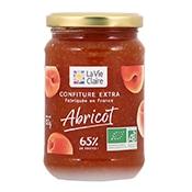 Confiture extra d'abricots bio