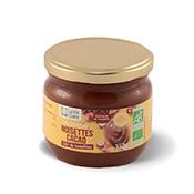 Pâte à tartiner aux noisettes et cacao bio