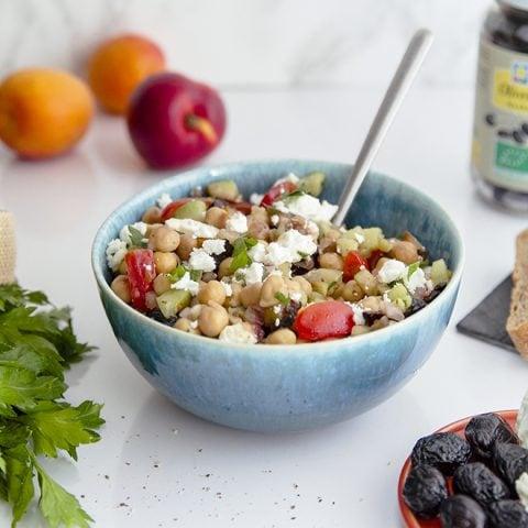Salade à la grecque revisitée
