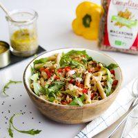 Salade de pâtes complètes au thon
