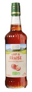 Sirop de fraise bio La Vie Claire