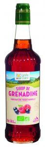 Sirop de grenadine bio La Vie Claire