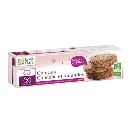 Cookies au chocolat et aux amandes bio