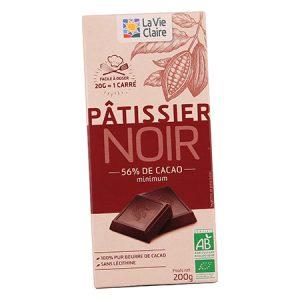 Chocolat noir pâtissier bio