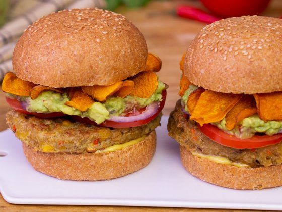 Burger vegan bio La Vie Claire