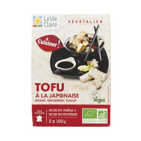 Tofu à la japonnaise bio