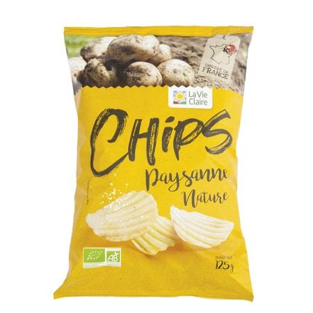 Chips nature paysanne bio