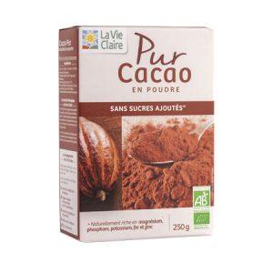 Pur cacao en poudre bio