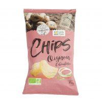Chips aux oignons et ciboulette bio