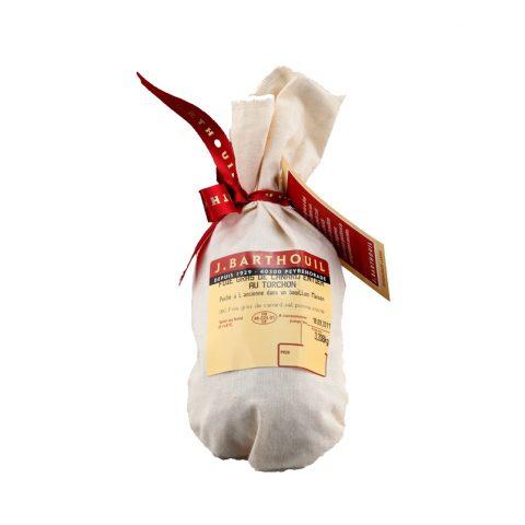 Demi foie gras en torchon