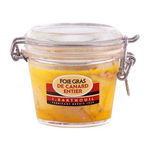Foie gras de canard entier en bocal 1