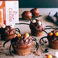 Muffins araignées 1
