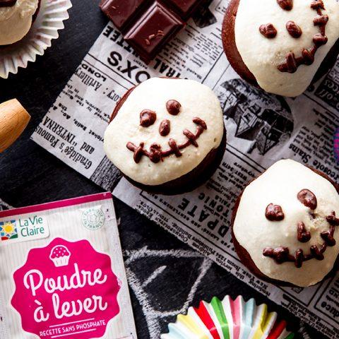 Muffins au chocolat Jack Skellington 1