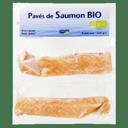 Pavés de saumon Atlantique bio 1