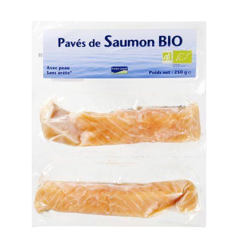 Pavés de saumon Atlantique bio