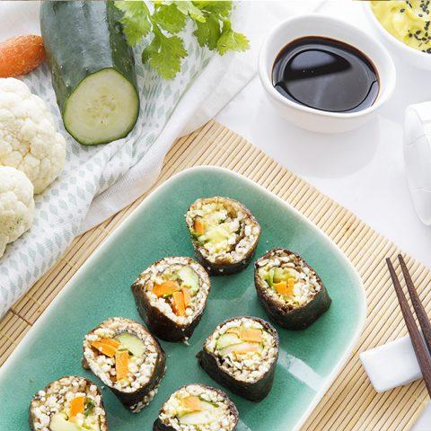 Sushis de chou-fleur