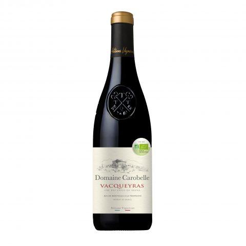 Vin rouge Vacqueyras bio Domaine Carobelle Cru des Côtes du Rhône