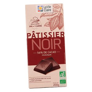 Chocolat noir pâtissier