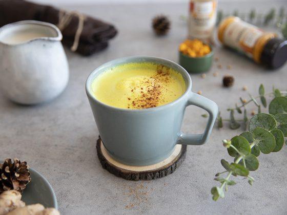 Golden milk au curcuma