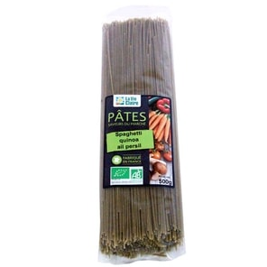 spaghetti quinoa ail persil