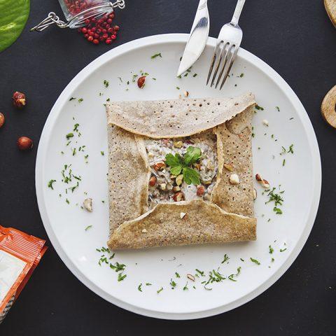Fusilli sans gluten sauce champignons 2