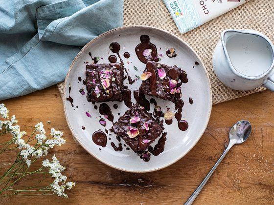 Brownie vegan au chocolat