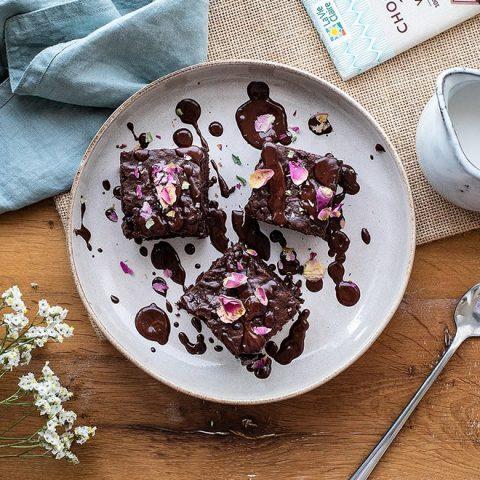 "Brownie vegan chocolat au ""lait"""