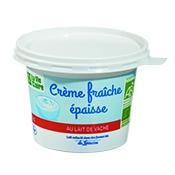 Crème fraîche bio épaisse