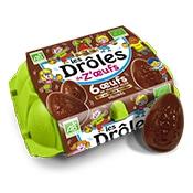 boite oeufs chocolat noir
