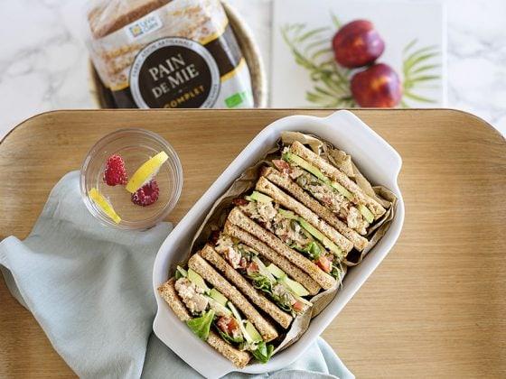 sandwich au thon