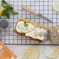 Cake vegan au citron et graines de pavot