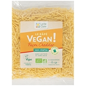 rapé vegan cheddar