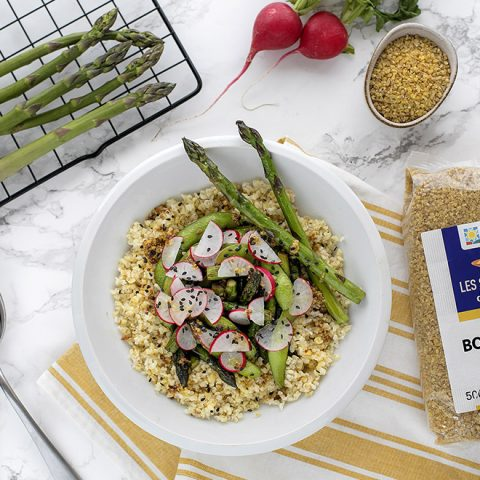 salade boulgour asperges