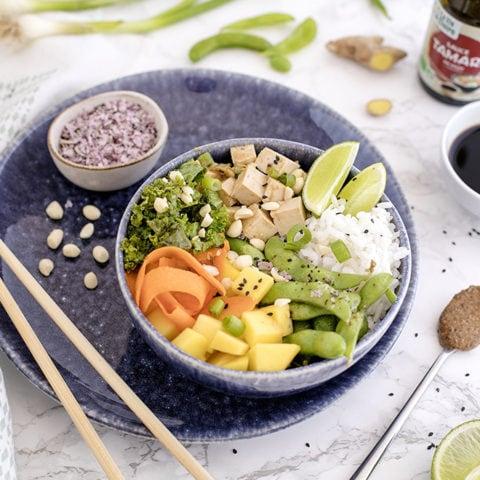 Buddha bowl à la japonaise