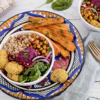 Buddha bowl à la libanaise 1
