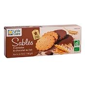 sablés chocolat