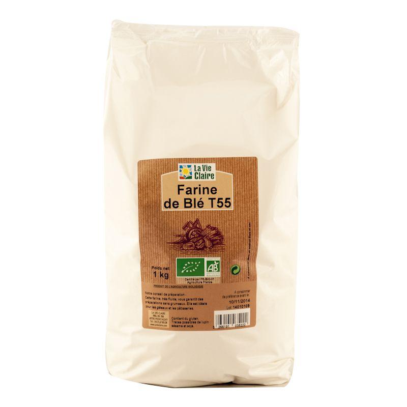 Farine T55 bio