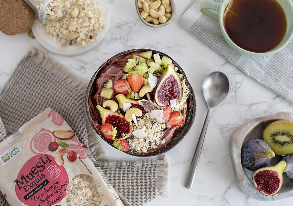 Acaï bowl aux figues