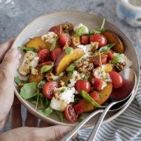 Salade de nectarines