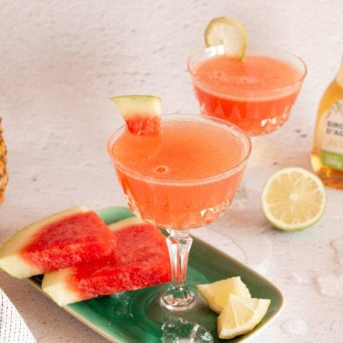 limonade pasteque ananas