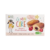 mini cake framboise