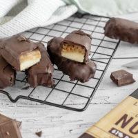 Barres au chocolat et beurre de cacahuète