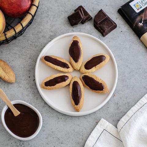 Barquette au chocolat noir