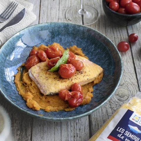 saumon pané