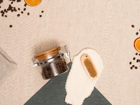 Gommage corps exfoliant café et sucre 1